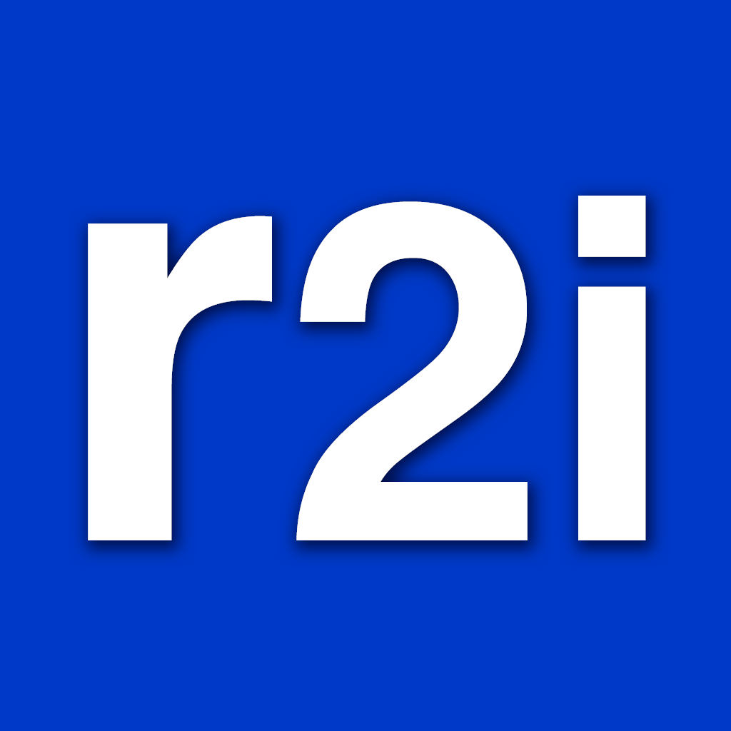 Logo r2i – From Research to Innovation